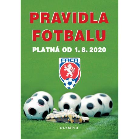 Pravidla fotbalu platná od 1. 8. 2020