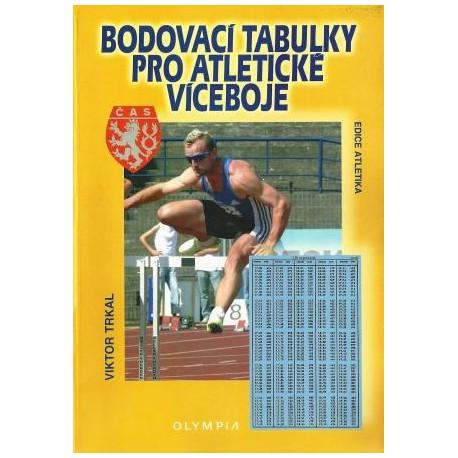 Bodovací tabulky pro atletické víceboje,1.vyd.